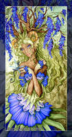 Wisteria Dryad by MisticUnicorn
