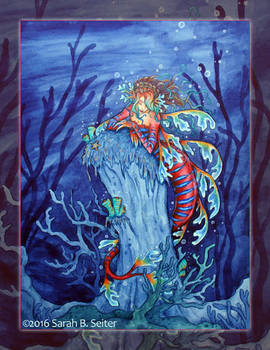 Sea Dragon Mermaid