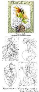 Flower Fairy - Coloring Book