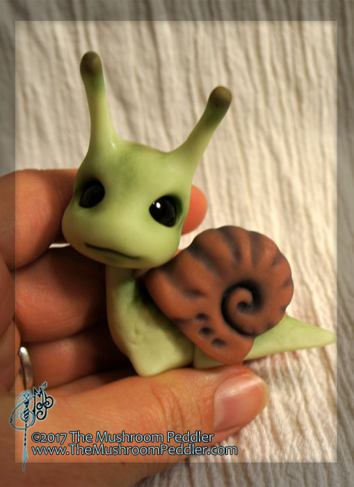 Slimey the Snail BJD by MisticUnicorn