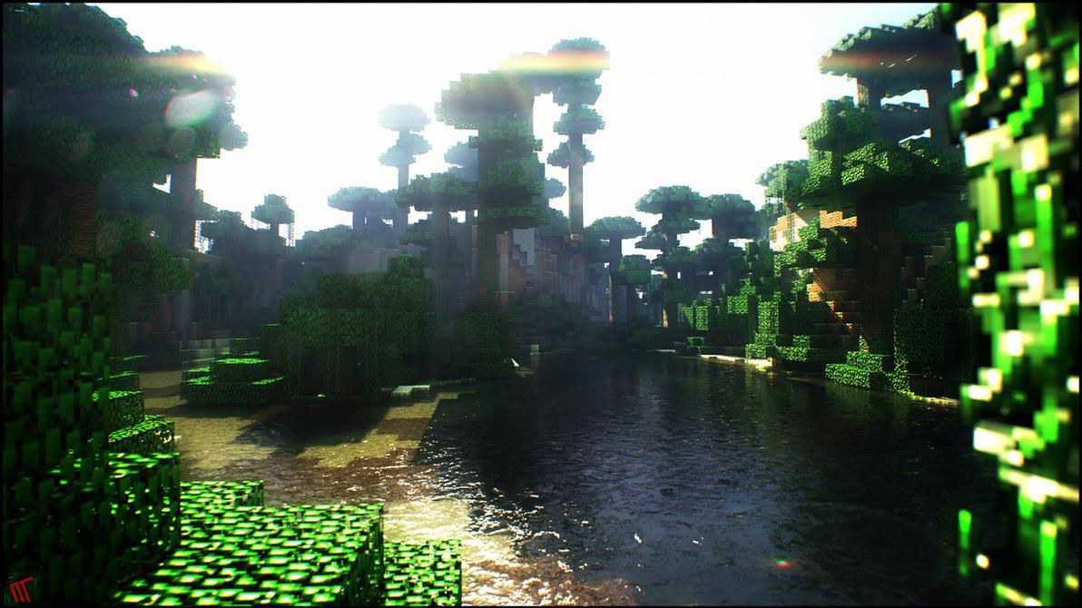 Beautiful Wallpaper Minecraft Forest - mc_jungle_by_neotendar-d5dfazi  Graphic_391613.jpg