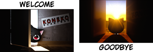Koneko Announcement Pictures by NeoTendar