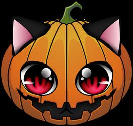 Koneko logo for Halloween by NeoTendar