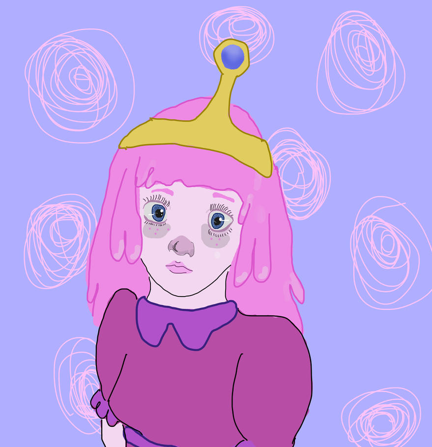 Princess Bubblegum Fanart By Morbid Little Bunny