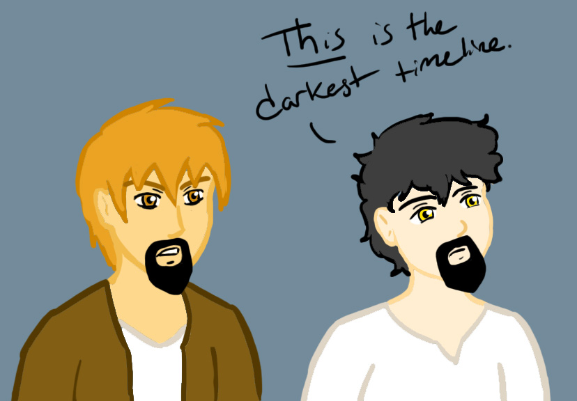 The Darkest TImeline by DorkyPumpkin