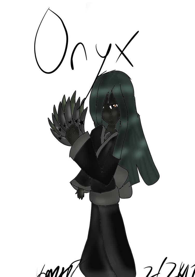 Gem - Onyx by IloveLeofromTMNT
