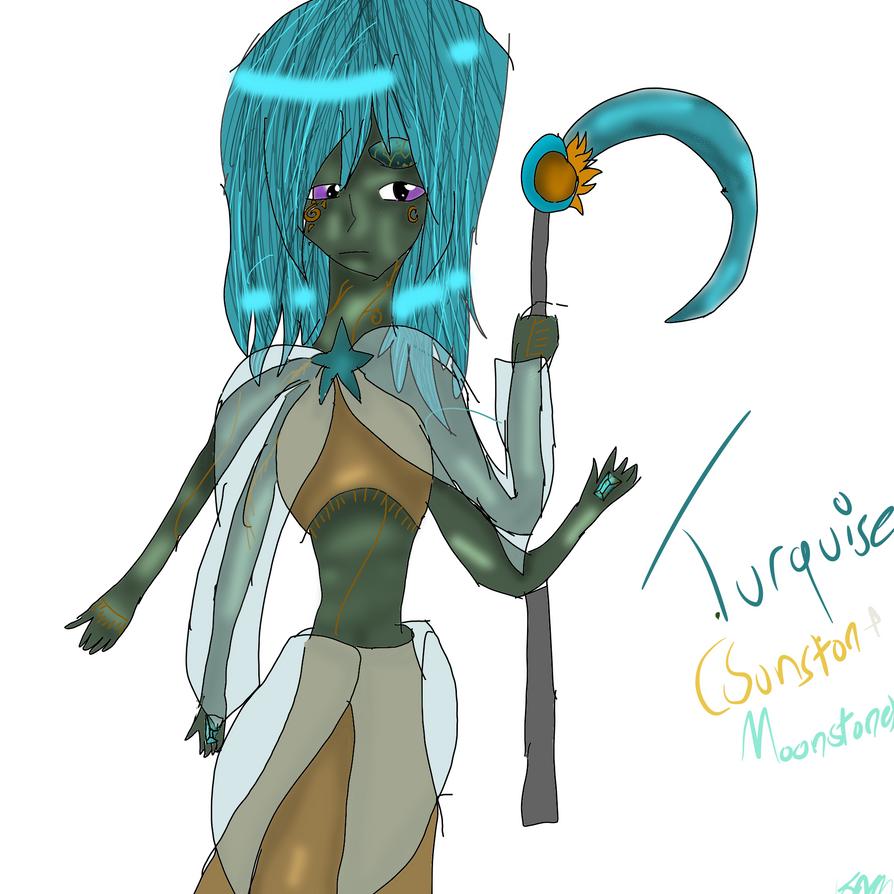 Turquoise by IloveLeofromTMNT