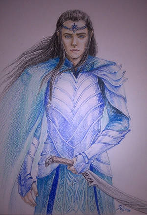 Elladan, son of Elrond by sstefiart