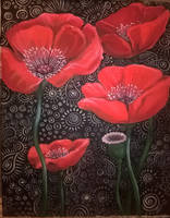 poppies by sstefiart
