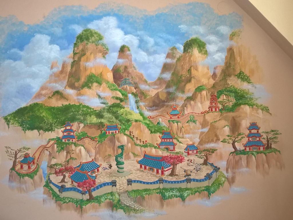 WorldofWarcraft - Pandaria - landscape by sstefiart