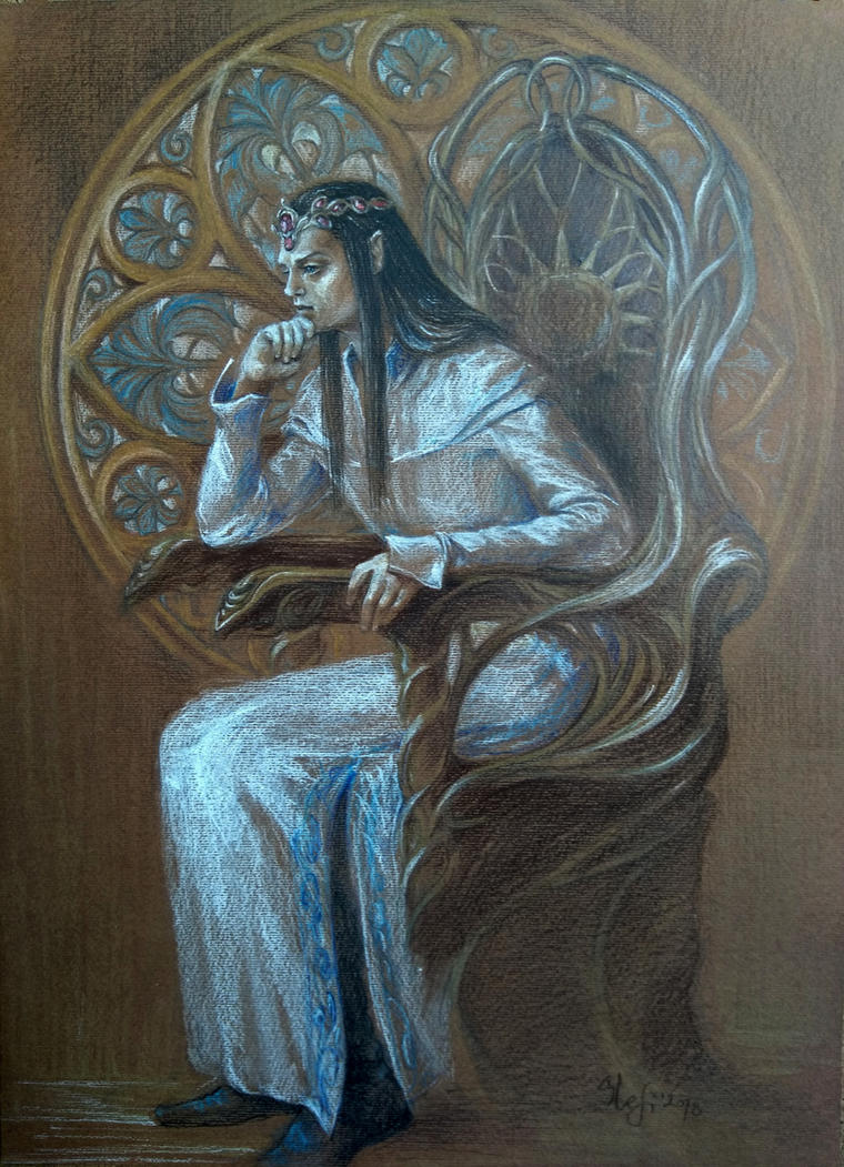 Turgon, King of Gondolin by sstefiart