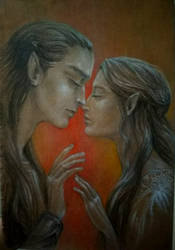 Fingolfin and Anaire_Promises by sstefiart