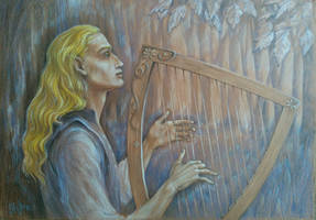 Finrod Felagund - The song of the elves by sstefiart
