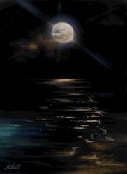The lunar path