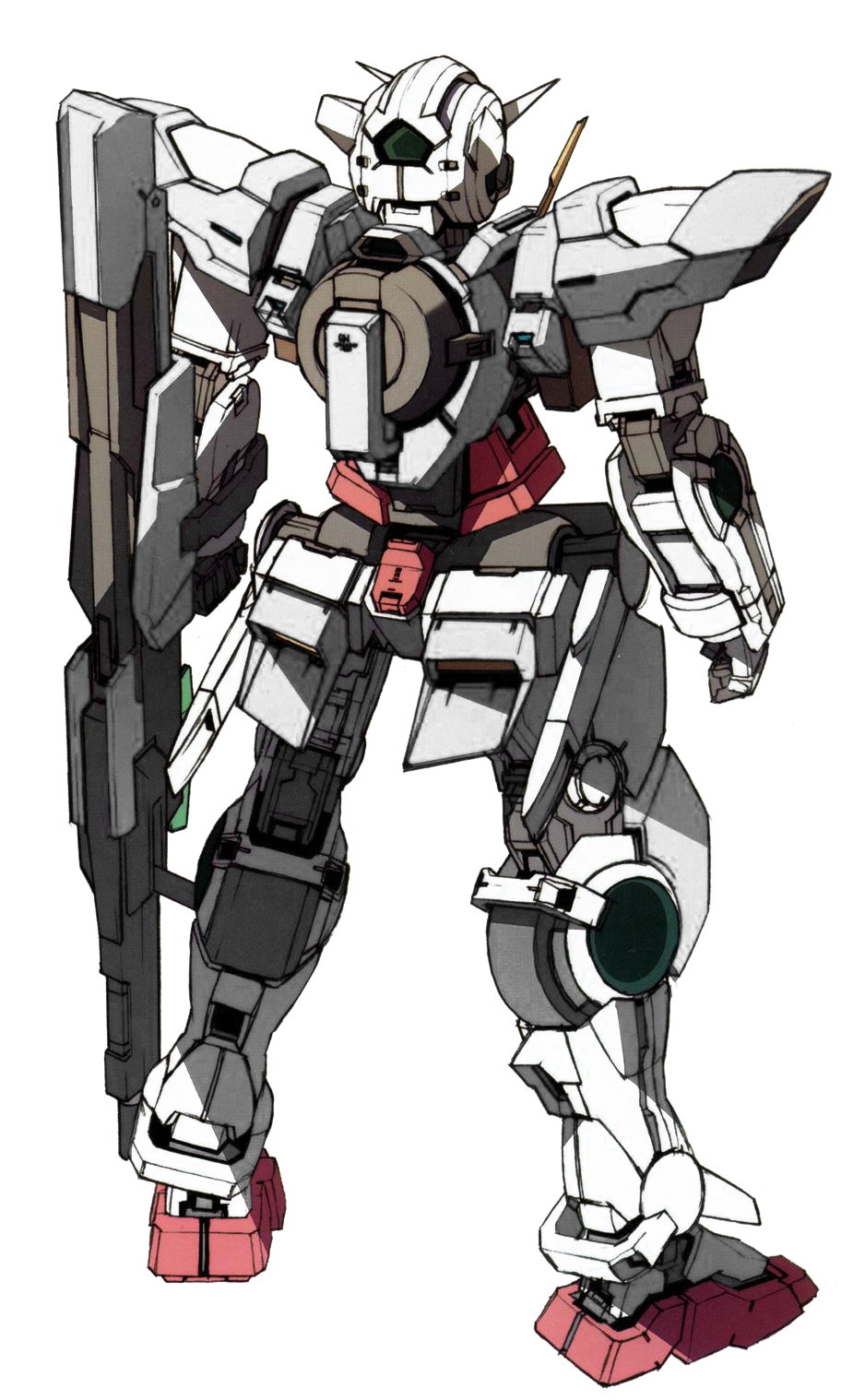 GN-001S Gundam Sterling Exia (Rear) by Anzac-A1