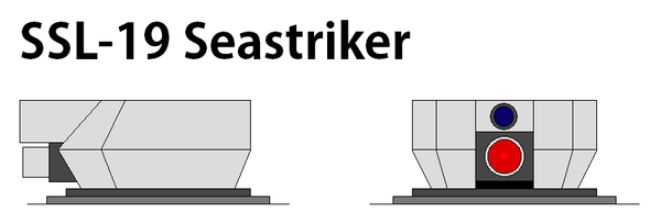 SSL-19 Seastriker Surface-to-Surface FEL by Anzac-A1