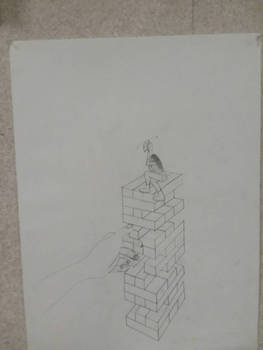 Giantess Tower Collapse