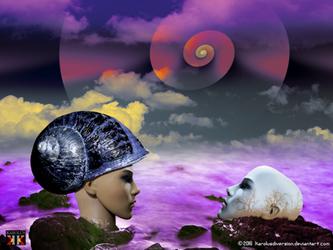 My soul is a chosen landscape by Karolusdiversion