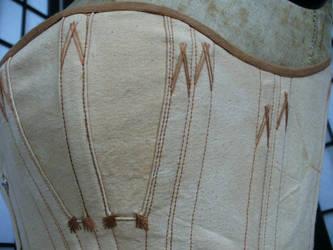 Detail of onion corset