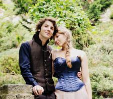 Wedding corset and wedding vest