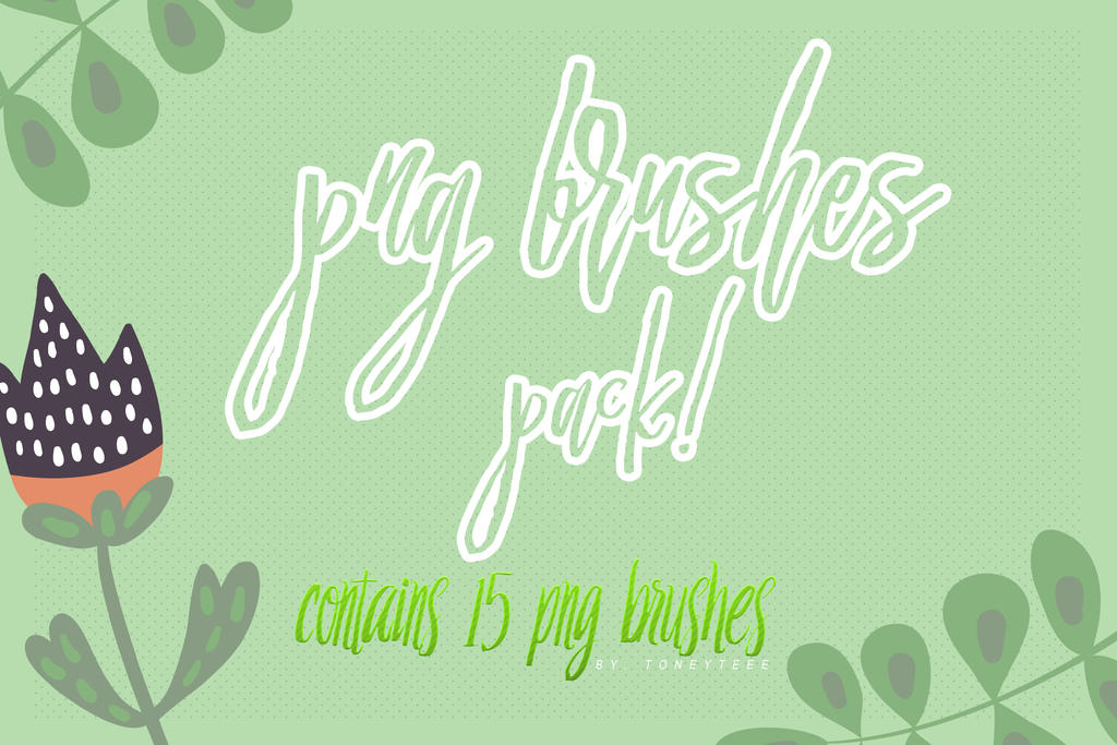 Png Brushes Pack Preview by toneyteee