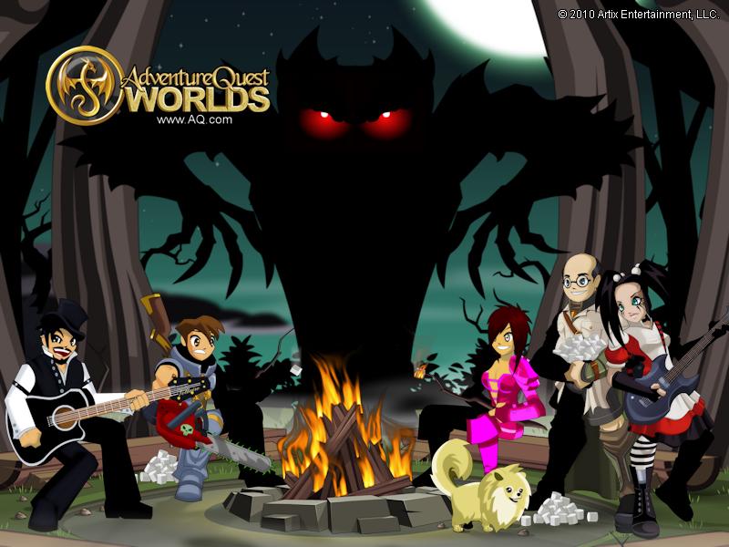 Aqworlds Good Vs Evil Wallpaper - 0425