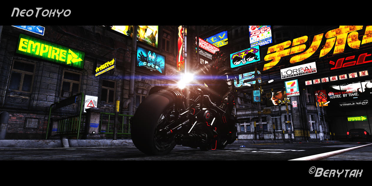 Neo Tokyo by Berytak