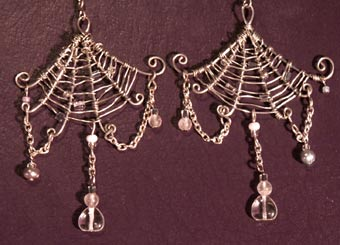 Draping Spider's Webs by phee-adornments