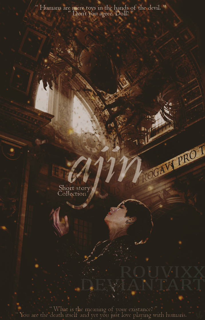 Ajin: Short Story Collection [Wattpad Cover] by rouvixx on