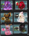 Flower power- \\Demon/Alien Adopts\\CLOSED!