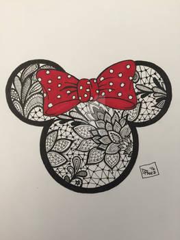 Minnie Mouse Tattoo design
