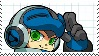 MIGHTY NO. 9 STAMP (Basic) by DarkKnightCuron