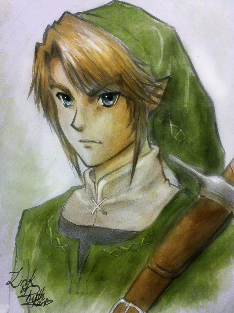 Link- Legend of Zelda Fan Art by Ruth Kan by Shoujohoney8 ...