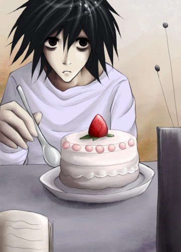 Death Note: Cake? by kaekaa on DeviantArt