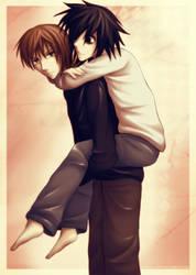Death Note: Carry me by kaekaa