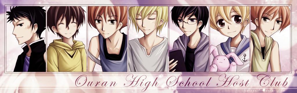 ouran highschool host club characters profiles www