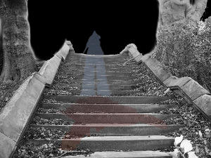 Path of blood by LadySilvernight