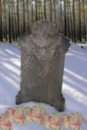 Grave face by LadySilvernight