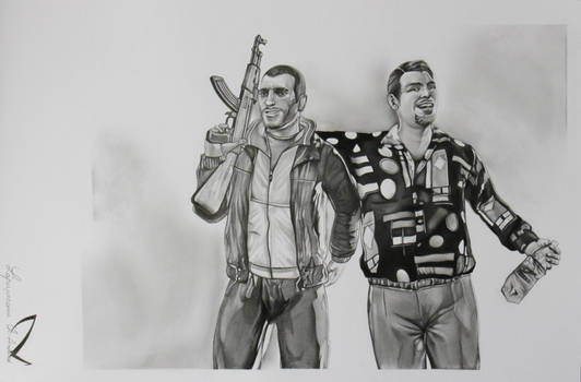 GTA IV the Bellic cousins