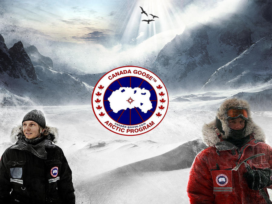 Canada Goose Promo by solubl3