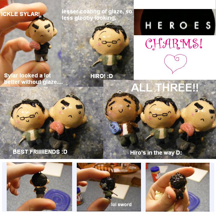 Heroes Charms by MandyPandaa