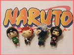 Chibi-Charms: Naruto Quartet
