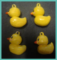 Charms - Rubber Duckies by MandyPandaa