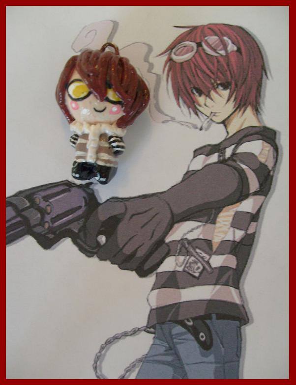Chibi-Charms: Death Note Matt by MandyPandaa