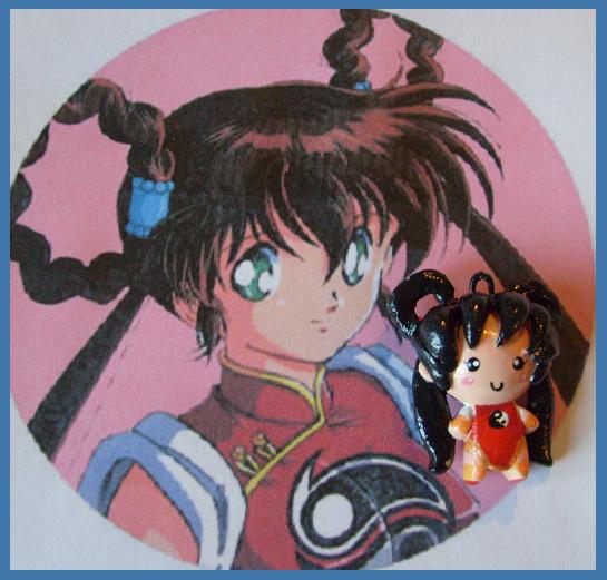 Chibi-Charms: DevilHunter Yoko by MandyPandaa
