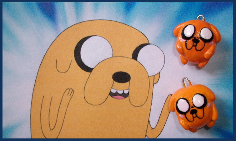 Chibi-Charms: AT Jake the Dog by MandyPandaa