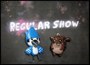 Chibi-Charms: Regular Show by MandyPandaa