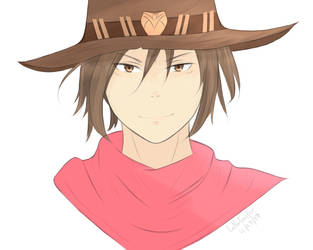 Young McCree from Overwatch by LollerToaster