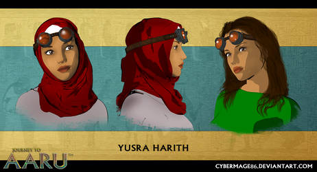 Yusra Harith by Cybermage86