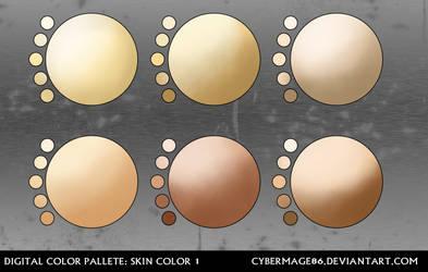 Digital pallete: Skin color 1